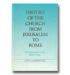 History Of The Church From Jerusalem To Rome