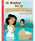 Baby In A Basket Coloring Book