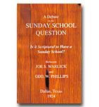 Debate On The Sunday School Question