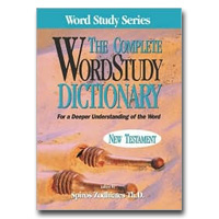 Complete Word Study Dictionary; New Testament