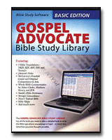 Gospel Advocate Bible Study Library - CD