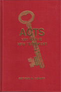 Acts Key To The New Testament