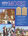 A Beka - Flash-a-Card - Life Of Moses - Series 3 - Journey Through The Wilderness
