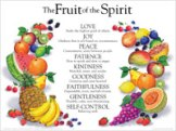 Fruit of the Spirit - Wall Chart - Lam