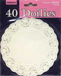 "Doilies - 6"" - 40 Count"