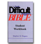 How To Study difficult passages Of The Bible - Student Workbook