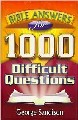 Bible Answers For 1,000 Difficult Questions