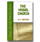Model Church, The (Gospel Advocate Reprint Library )
