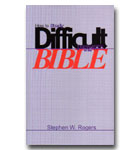 How To Study Difficult Passages Of The Bible (HB)